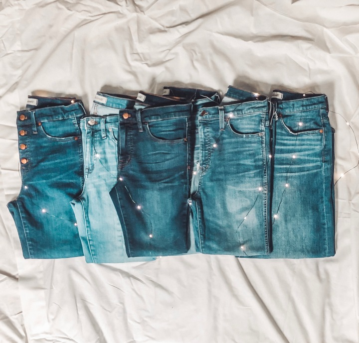 A Short Girl's Guide to Madewell Jeans