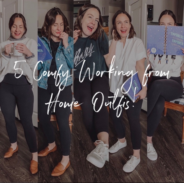 Comfy Working from Home Outfits